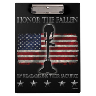 Honor The Fallen Clipboard
