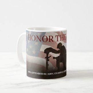 Honor The Fallen Coffee Mug