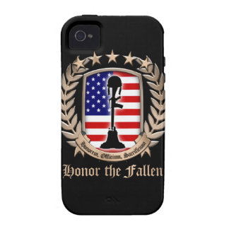 Honor The Fallen - Crest iPhone 4/4S Cases