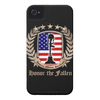 Honor The Fallen - Crest Case-Mate iPhone 4 Cases
