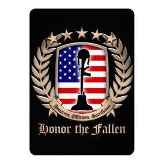 Honor The Fallen - Crest Card