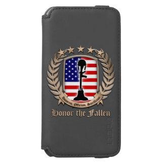 Honor The Fallen – Crest iPhone 6/6s Wallet Case