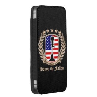 Honor The Fallen - Crest iPhone SE/5/5s/5c Pouch