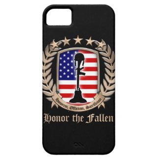 Honor The Fallen - Crest iPhone SE/5/5s Case