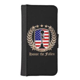Honor The Fallen - Crest iPhone 5 Wallets
