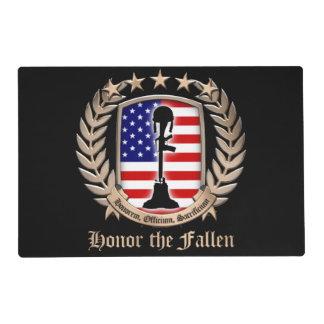 Honor The Fallen - Crest Placemat