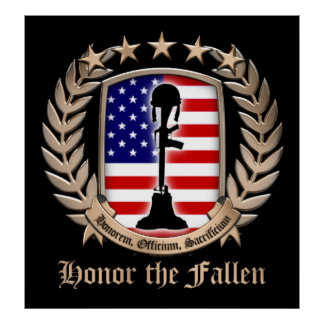 Honor The Fallen - Crest Print