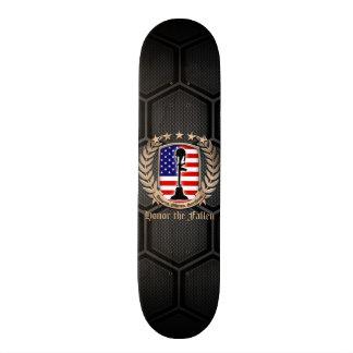 Honor The Fallen - Crest Skateboard Deck