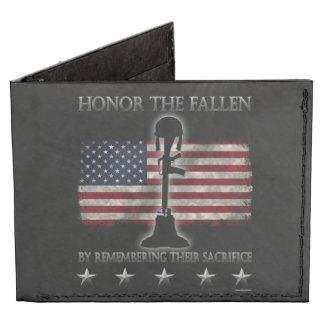 Honor The Fallen Billfold Wallet