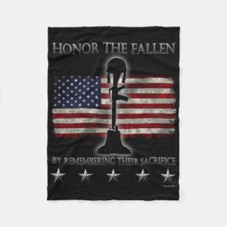 Honor The Fallen Fleece Blanket