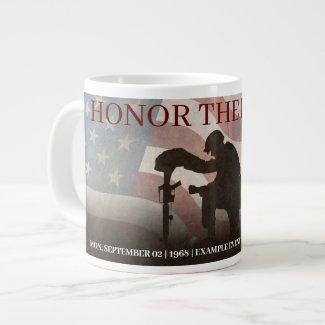 Honor The Fallen Giant Coffee Mug