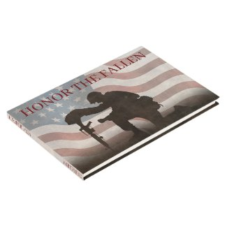 Honor The Fallen Guest Book