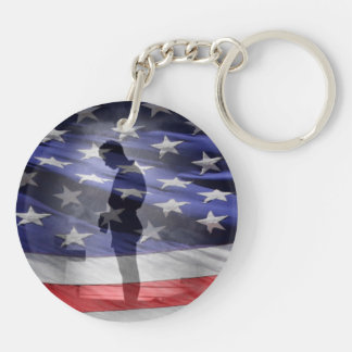 Honor the fallen heroes or the USAS Keychain