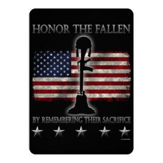 Honor The Fallen Invitation