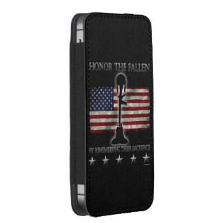 Honor The Fallen iPhone SE/5/5s/5c Pouch