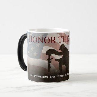Honor The Fallen Magic Mug