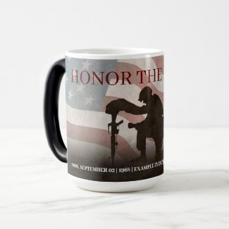 Honor The Fallen Drinkware