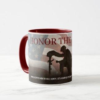 Honor The Fallen Mug