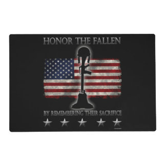 Honor The Fallen Placemat