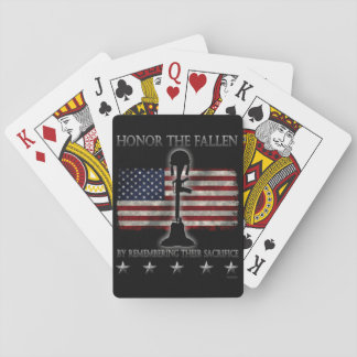 Honor The Fallen Playing Cards