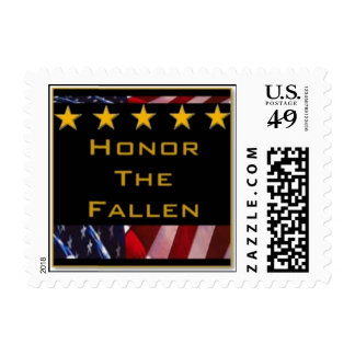 Honor the Fallen Postage Stamp