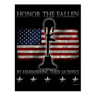 Honor The Fallen Postcard