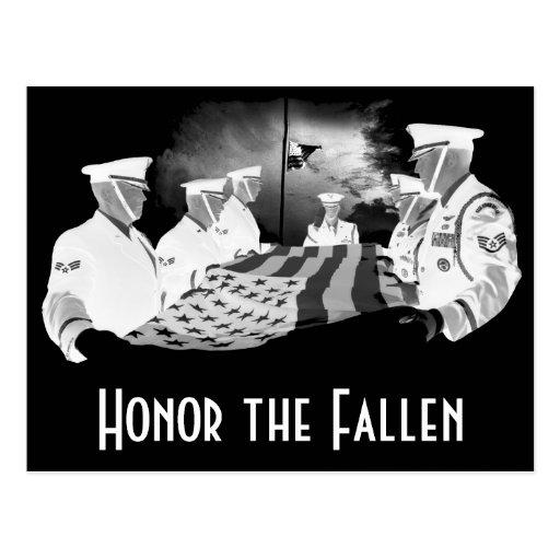 Honor the Fallen Postcard