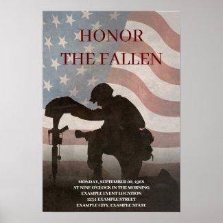 Honor The Fallen Pos...