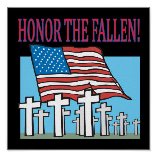 Honor The Fallen Print