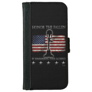 Honor The Fallen Wallet Phone Case For iPhone 6/6s