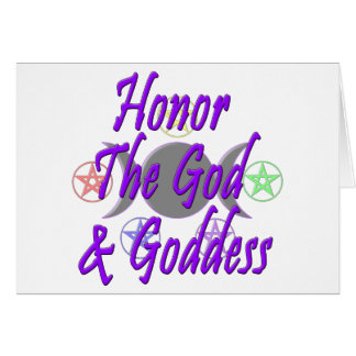 Honor The God & Goddess Cards