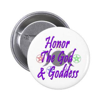 Honor The God & Goddess Pin