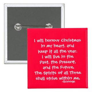 Honor-The Scrooge Series Pinback Button