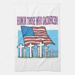 Honor Those Who Sacrificed Hand Towel
