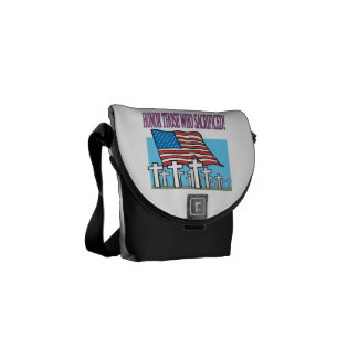 Honor Those Who Sacrificed.png Courier Bags