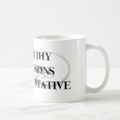 Honor Thy Admissions Representative Classic White Coffee Mug