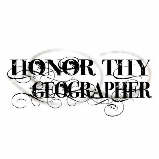 Honor Thy Geographer Photo Sculpture