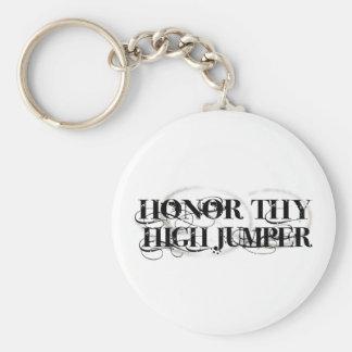 Honor Thy High Jumper Keychain