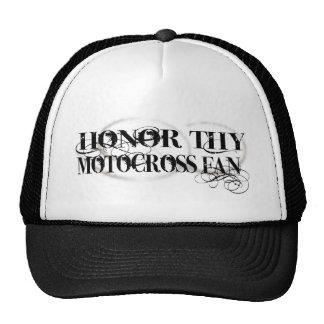 Honor Thy Motocross Fan Trucker Hat