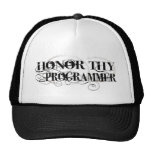Honor Thy Programmer Hats