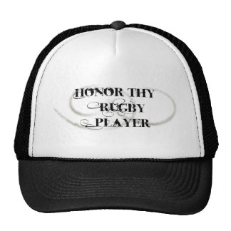 Honor Thy Rugby Player Trucker Hat