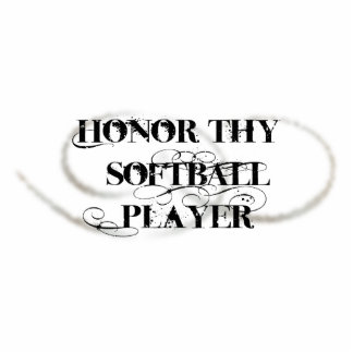 Honor Thy Softball Player Cut Outs