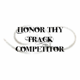 Honor Thy Track Competitor Photo Sculpture