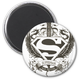 Honor, Truth on White 2 Inch Round Magnet