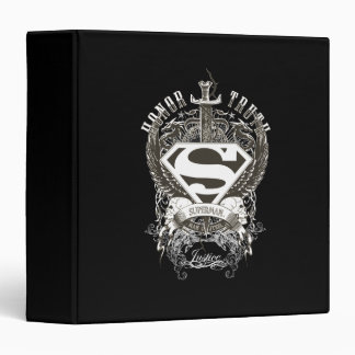 Honor, Truth on White 3 Ring Binder