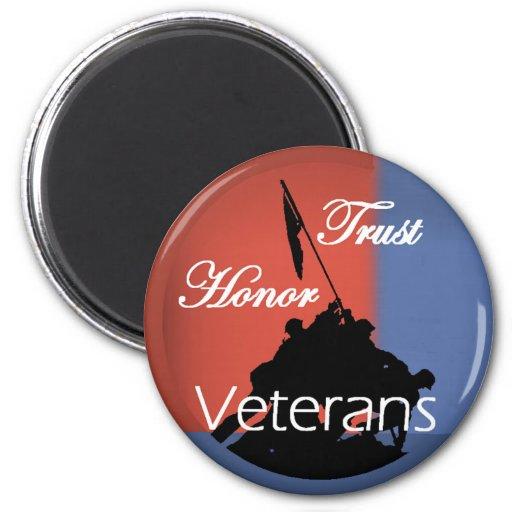 Honor Veterans Magnet