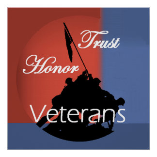 Honor Veterans POSTERS Print