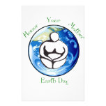 Honor your mother Earth Day Stationery Design