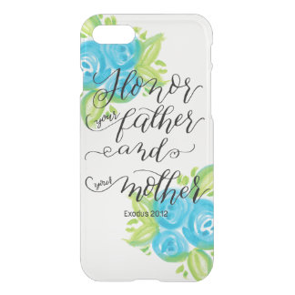 Honor Your Parents iPhone 7 Case