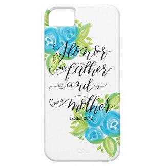 Honor Your Parents iPhone SE/5/5s Case